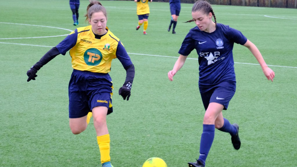Mortimer Ladies take points in top of the table clash