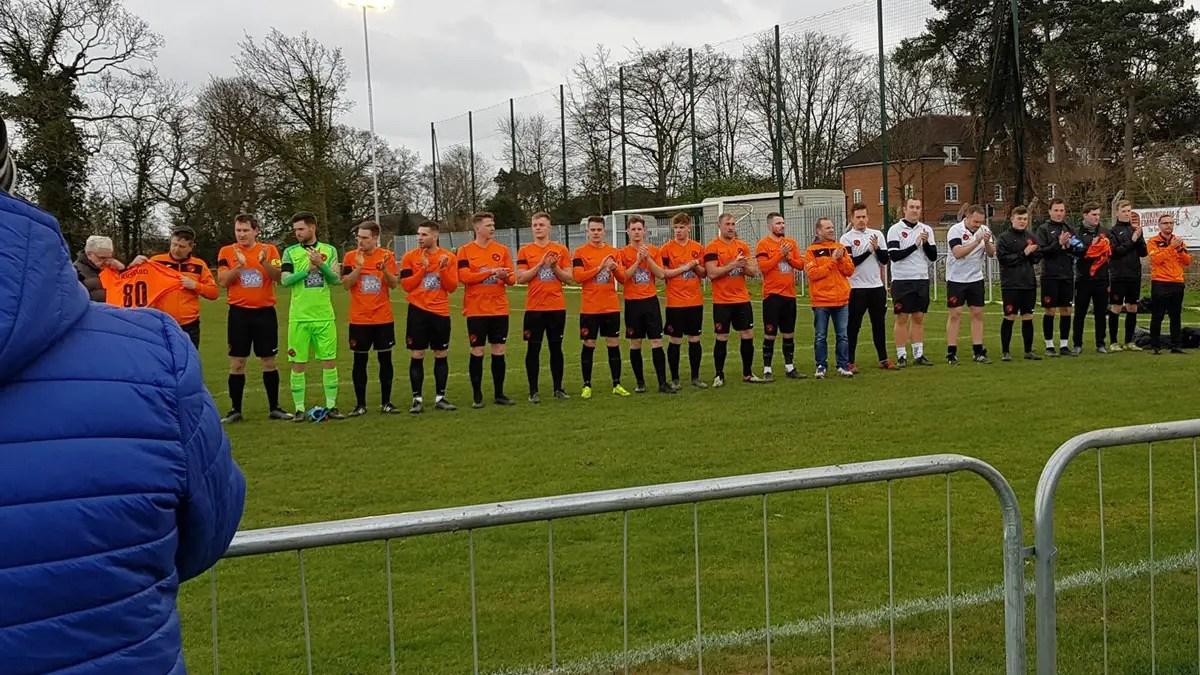Wokingham & Emmbrook pay tribute to stalwart fan, Binfield held