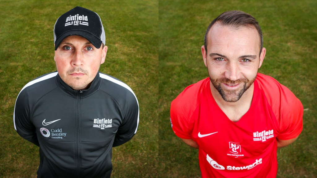 Binfield FC appoint Carl Withers and Jamie McClurg – full statement