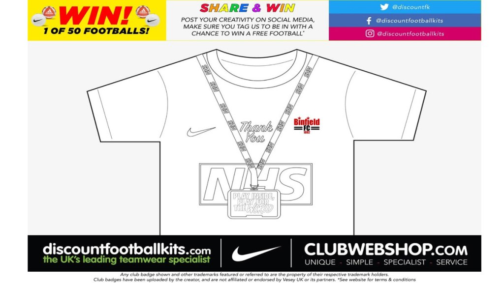Download a template to design your teams new shirt