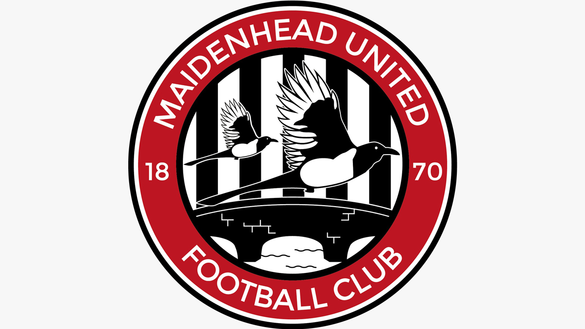 Maidenhead United launch smart new 150th anniversary crest