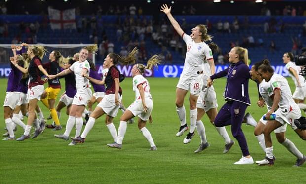 महिला विश्वकप फुटबल : इंग्ल्यान्ड सेमिफाइनल प्रवेश