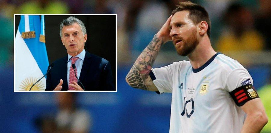 ब्राजिलसँग हारेपछि आफ्ना खेलाडीलाई अर्जेन्टिनी राष्ट्रपतिको यस्तो सन्देश