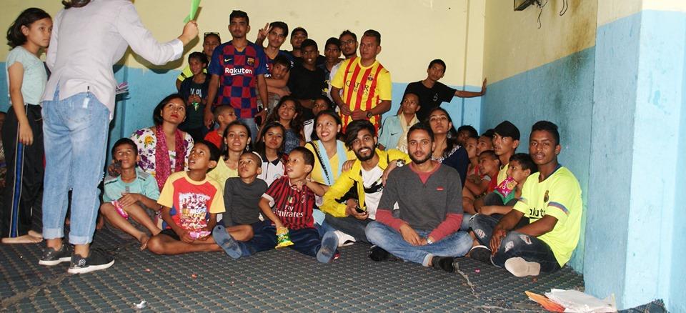 बार्सिलोनाका फ्यानले बालबालिकासँग मनाए बाल दिवस : विविध कार्यक्रम सम्पन्न