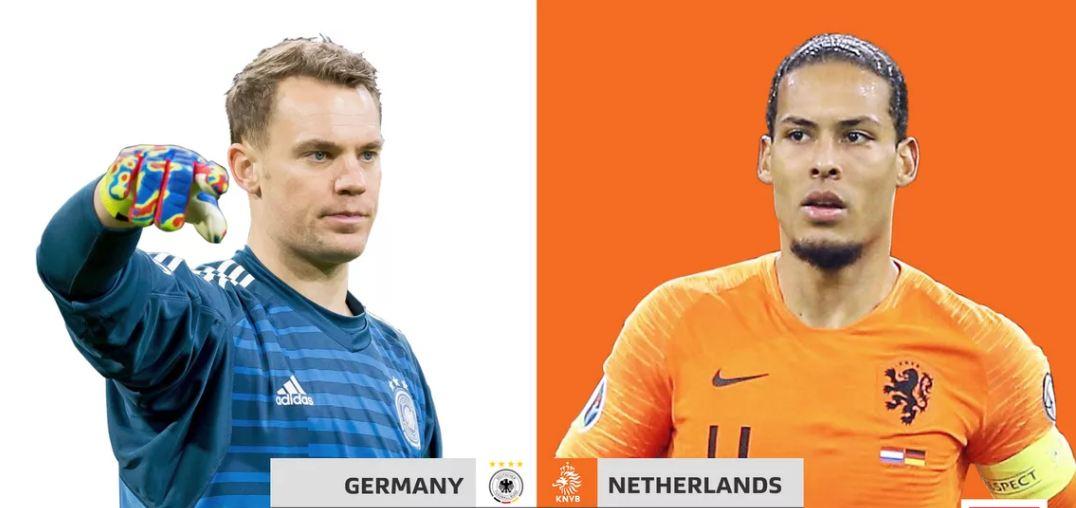 युरो कप छनौटमा आज ९ खेल : जर्मनी र नेदरल्यान्ड्सको महाभिडन्त आजै