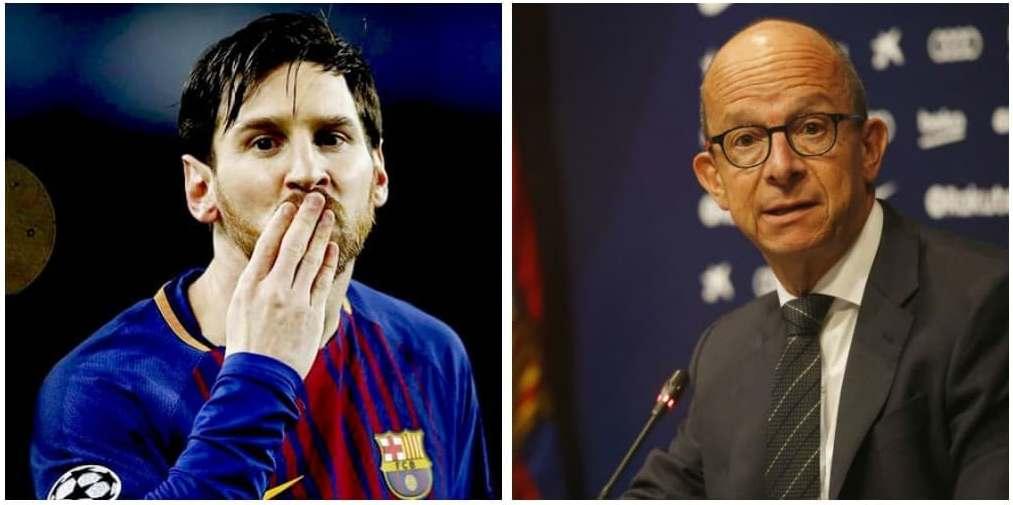 बस्ने वा जाने निर्णय मेस्सीकै हातमा : बार्सिलोना उपाध्यक्ष