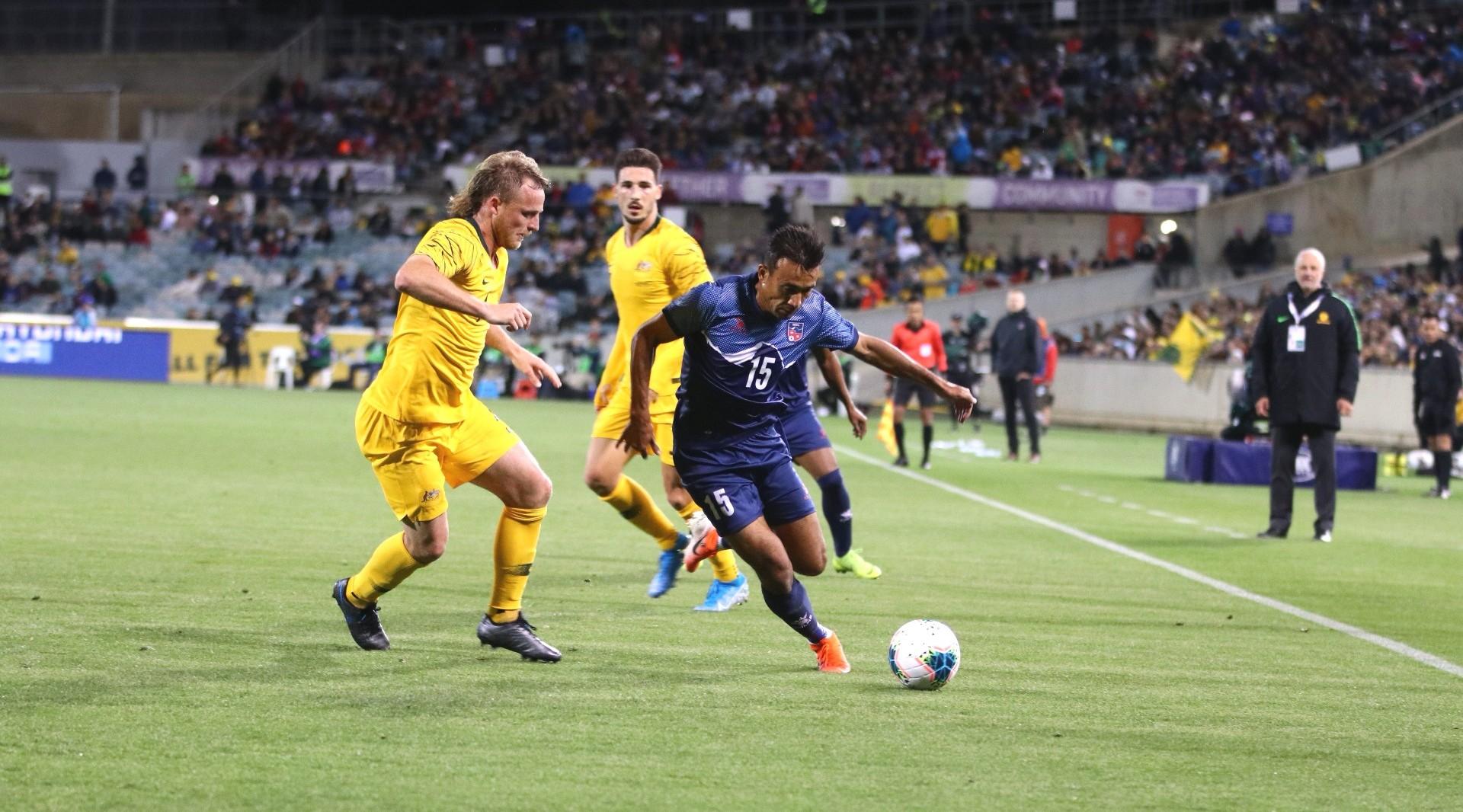 विश्वकप छनौट : अस्ट्रेलियाविरुद्ध खेल्ने नेपाली टोली घोषणा