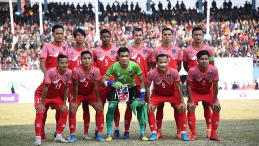 साग पुरुष फुटबल फाइनल : पहिलो हाफमा १–१ को बराबरी