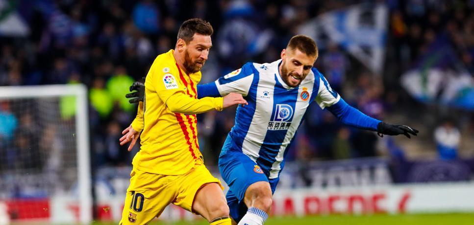 बार्सिलोनालाई अवे खेल जित्नै गाह्रो : २०औं स्थानको इस्पान्योलले रोक्यो !