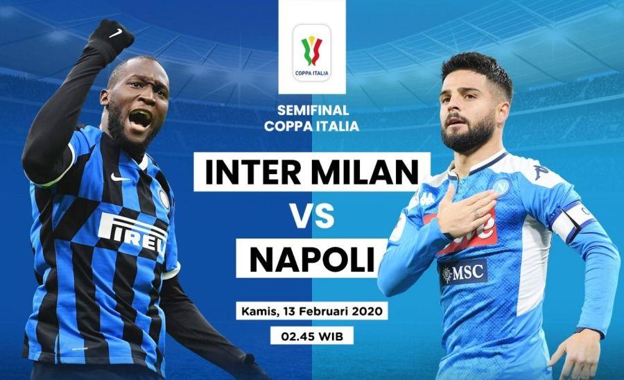 कोपा इटालिया : पहिलो सेमिफाइनलमा आज इन्टर मिलान र नापोली भिड्दै