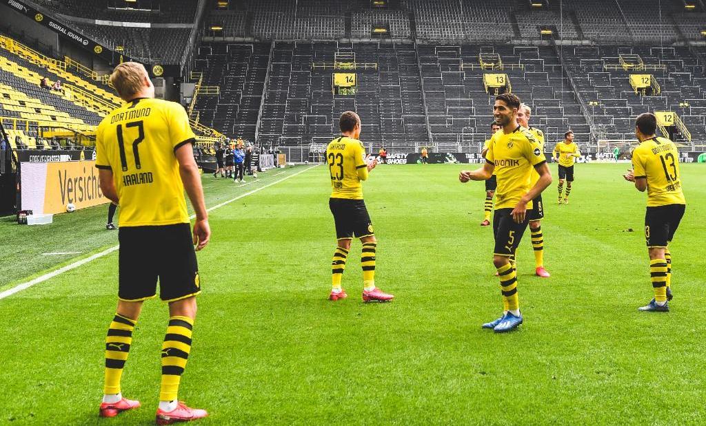 कोरोना छिचोल्दै जर्मनीमा फुटबल सुरु : डर्टमुन्डको शानदार जित