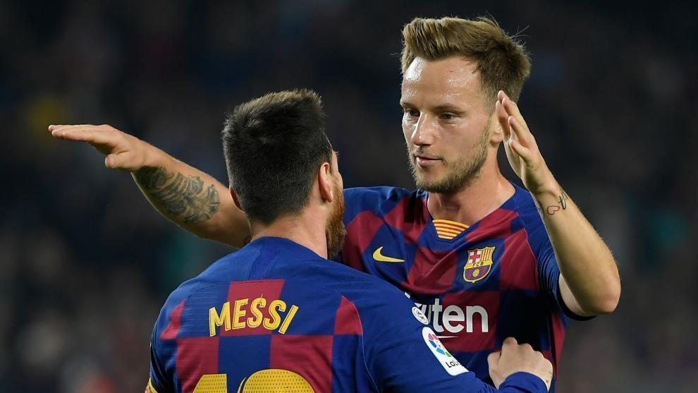 बार्सिलोनासँग राकिटिकले भने, 'क्लब छाड्ने मेरो कुनै सोच छैन'