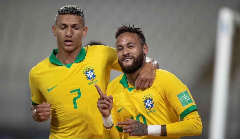 विश्वकप छनौट : ब्राजिलको शानदार जितमा नेइमारको ह्याट्रिक
