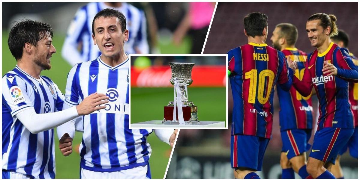 सुपर कपमा सेमिफाइनल : आज बार्सिलोना र रियल सोसिडाड भिड्दै