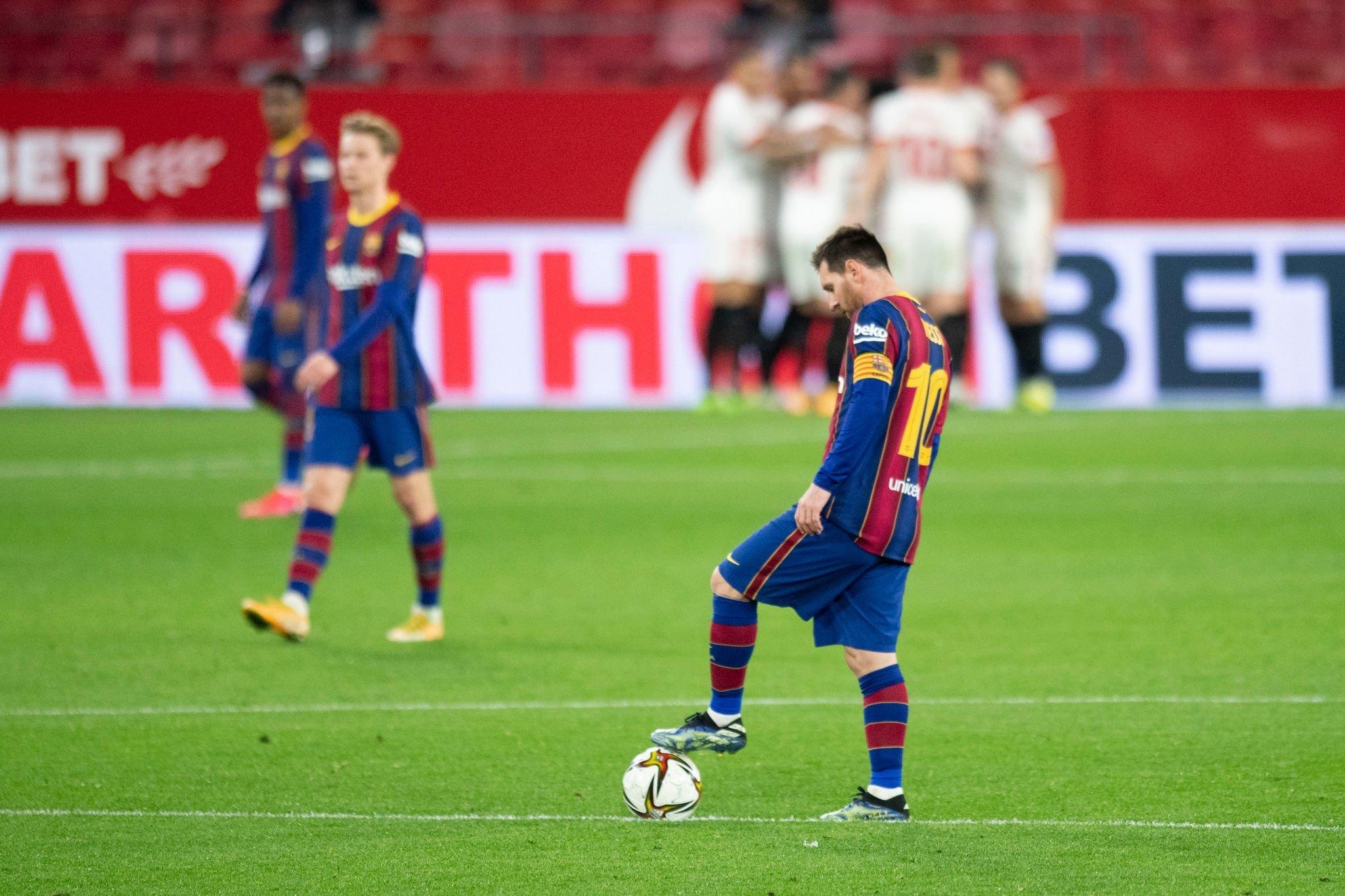 कोपा डेल रे सेमिफाइनल : सेभिल्लाले बार्सिलोनालाई चखायो नमिठो हार