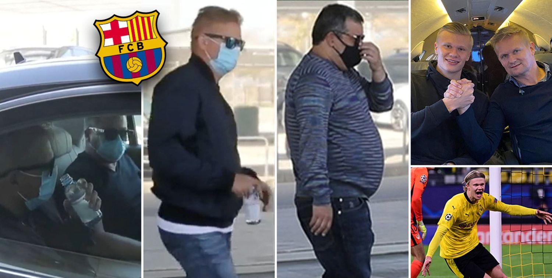 हल्यान्डका पिता र एजेन्ट अचानक बार्सिलोनामा : क्लबसँग पहिलो बैठकमा के–के भयो ?