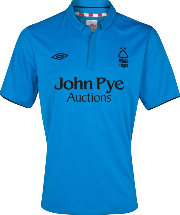 Umbro Nottingham Forest FC 2012-2013 Away Kit