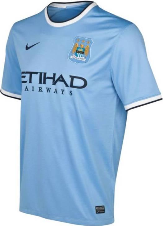 New Man City Kit 13-14- Nike Manchester City Home Jersey ...
