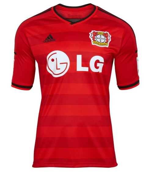 Leverkusen Soccer Jersey 2014 2015