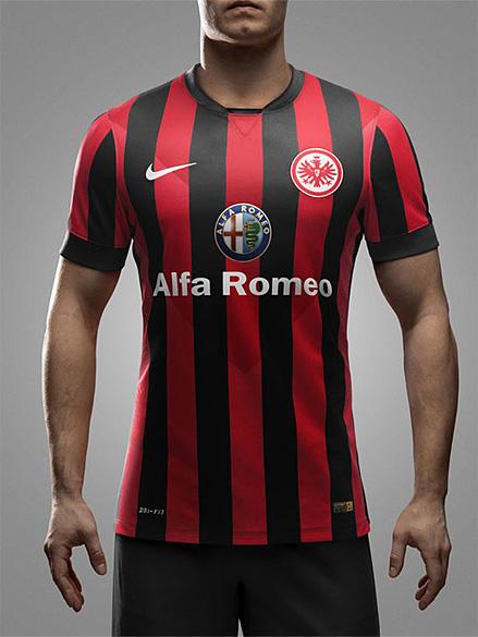 Eintracht Frankfurt Home Kit 2014 15