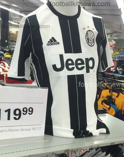260ebcd8f Leaked Juventus Home Shirt 2016 17 by Adidas
