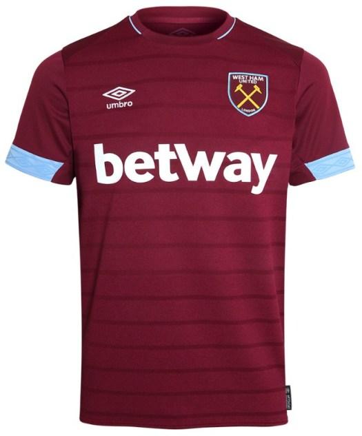 New West Ham Jerseys 2018-2019   Umbro unveil dark teal ...