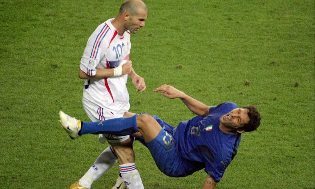 Zinedine Zidane's headbutt