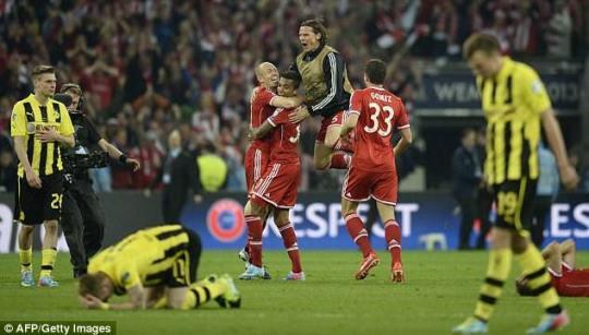 Jurgen Klopp's Dortmund defeated against Bayern Munich in the Champions' League Final