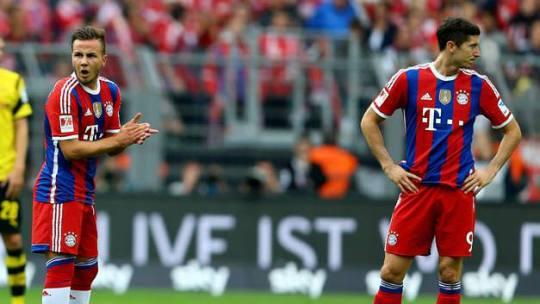 Bayern Munich steal Mario Gotze and Robert Lewandowski from Jurgen Klopp's Borussia Dortmund
