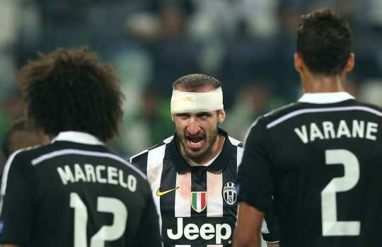 A warrior spirit on the pitch makes Juventus the meanest defence in Europe.