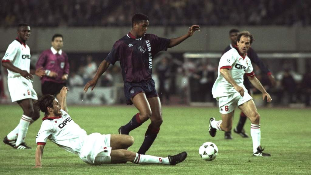 19 year-old Kluivert scored the winner as Ajax won the Champions League in 1995