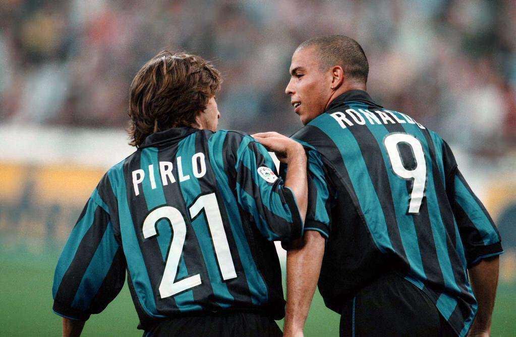 Pirlo e Ronaldo | numerosette.eu