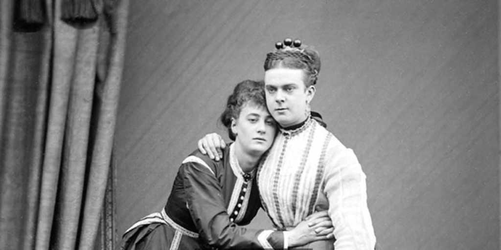 History of English football - Cross-dressing gents of Victorian, England.