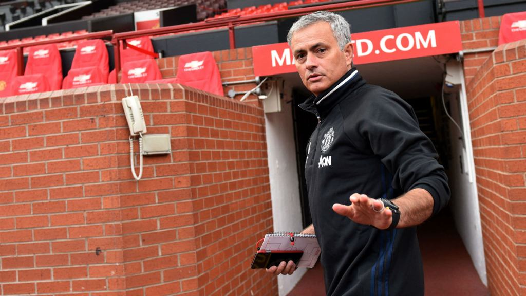 Jose Mourinho at the Theatre of Dreams