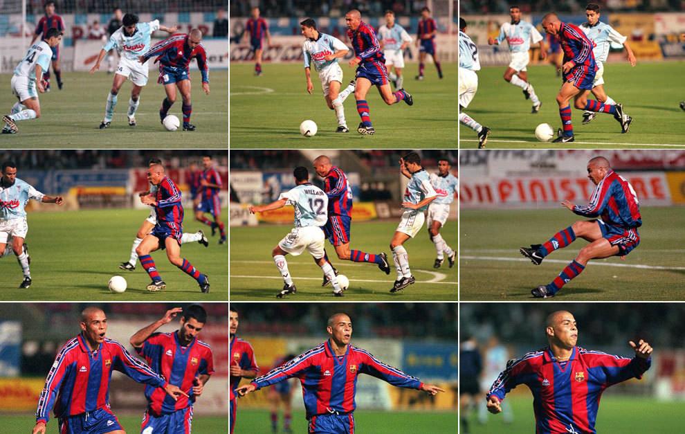 Luis Ronaldo vs Compostela  One of the greatest goals ever scored in La Liga ba17102209927