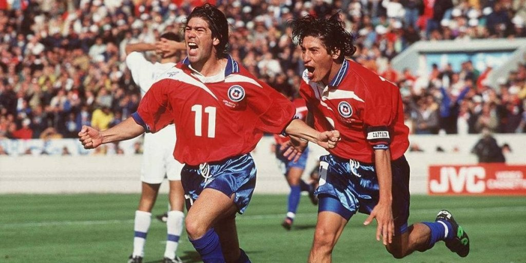 Marcelo Salas and Ivan Zamorano, Chile's greatest ever forwards, now sit behind Alexis Sanchez in the charts.