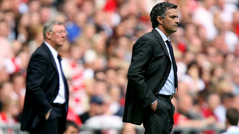 Jose Mourinho had long harboured dreams of following Sir Alex Ferguson into the Old Trafford throne.