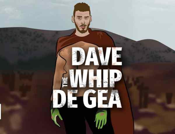 David de Gea, The Whip of Manchester - An Alternative Match Report