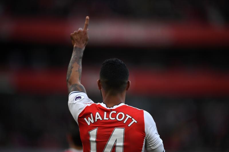 Theo Walcott, number 14
