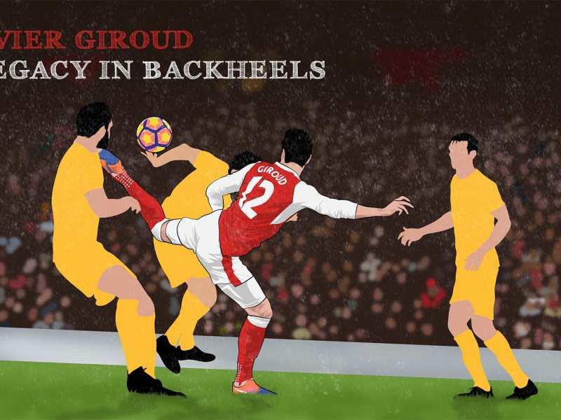 Olivier Giroud: A Legacy in Backheels