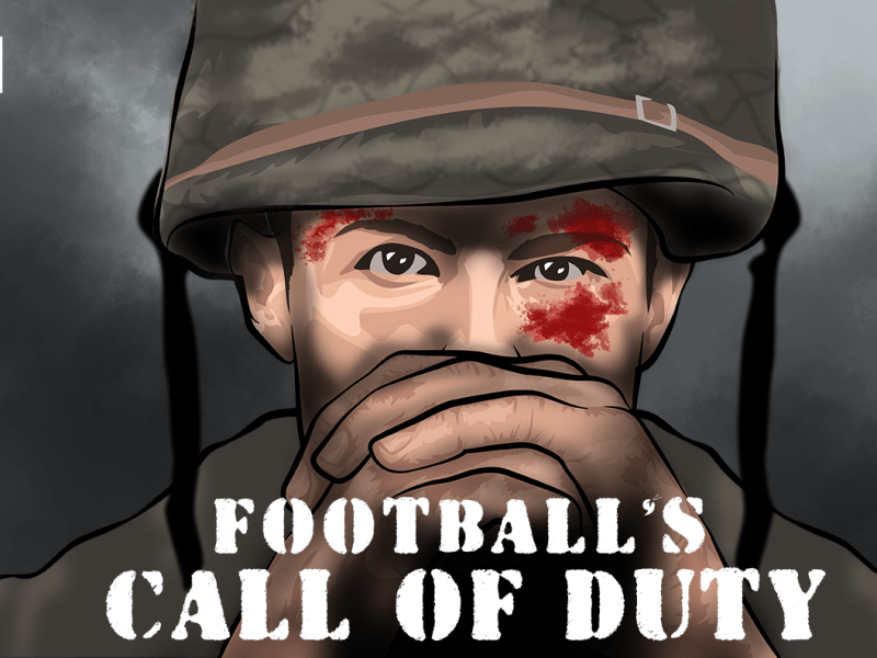 Football's Call of Duty: Playing in the trenches in World War 1 - Part 1