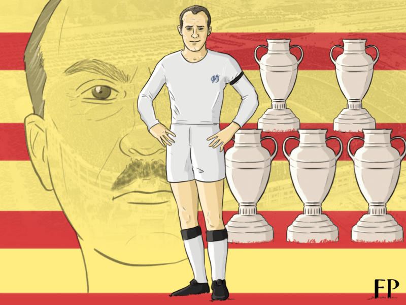 Francisco Franco used his fascist power to wrest Di Stefano from FC Barcelona