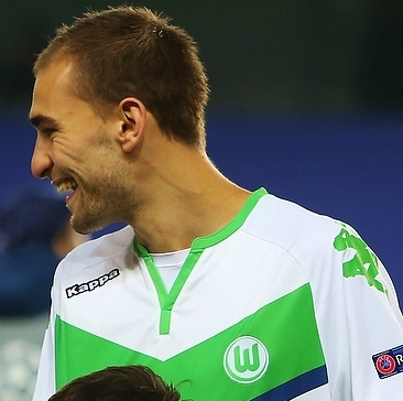 Bas Dost at Wolfsburg