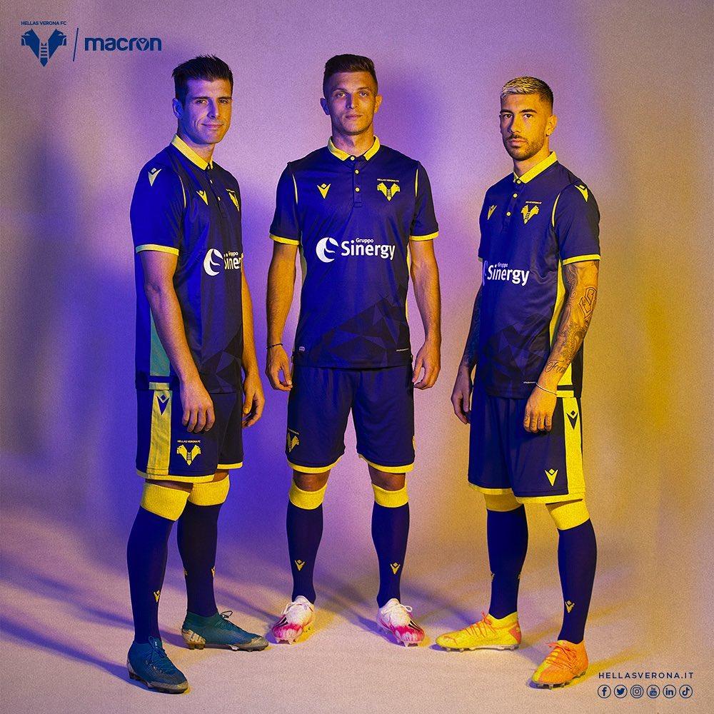 Wholesale best use soccer jerseys in dhgate online store. Hellas Verona 2020-21 Macron Home Kit   20/21 Kits