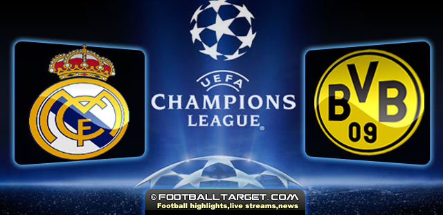 Real Madrid Vs Borussia Dortmund Live Streaming 30 04 2013 ρεάλ