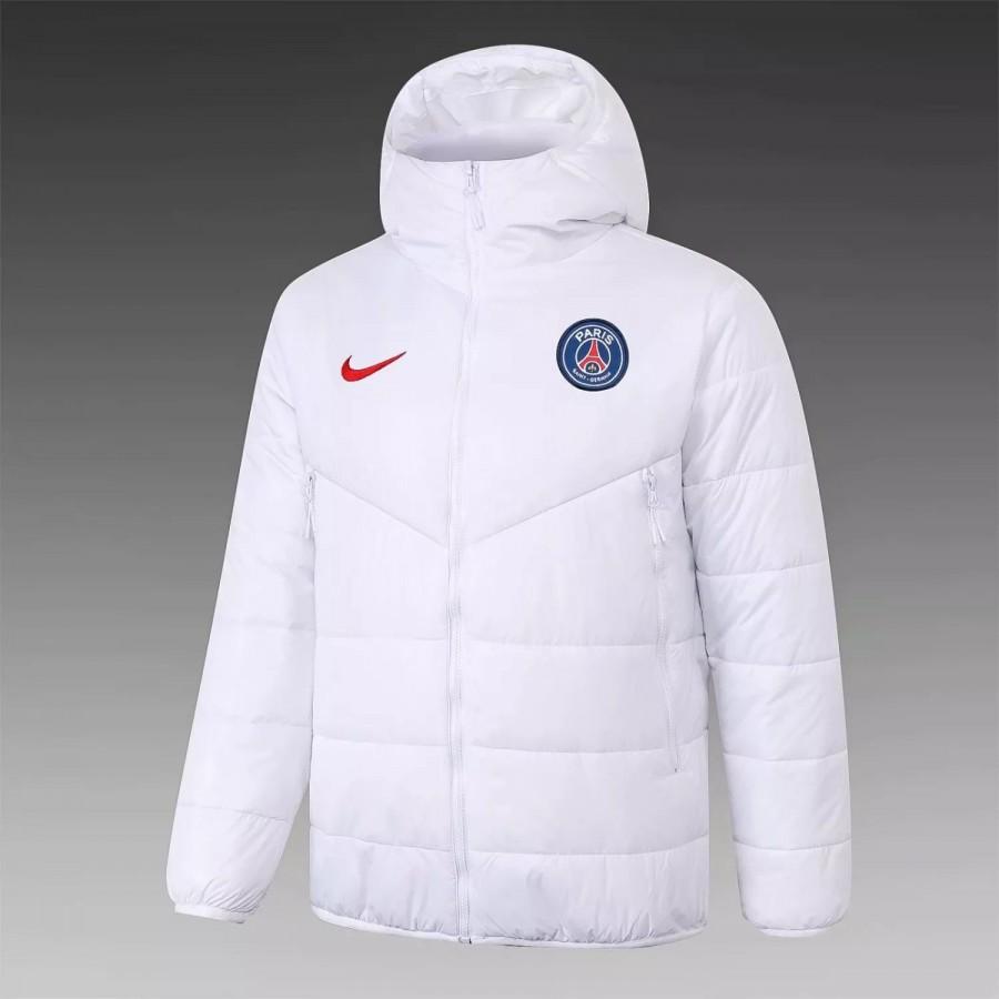 psg training winter jacket white 2020