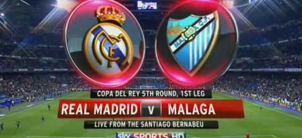 CdR - Real Madrid v. Malaga