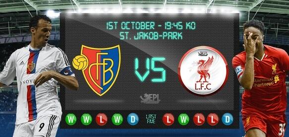 Watch FC Basel vs Liverpool Free live stream