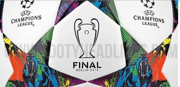Berlin 2015 final match ball of Champions League