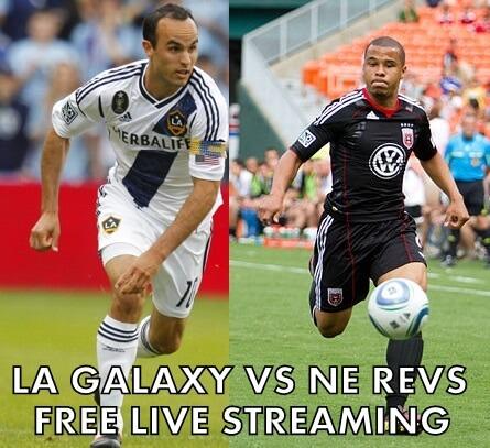 LA Galaxy vs NE Revolution Free Live streaming 2014 MLS final match